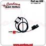 420- Strain Gauge ASG Quickshifter/Blip - Panigale V4, 1299, 1199R - 420- Strain Guage ASG Quickshifter - Panigale 1299 Blip STANDARD SHIFTING