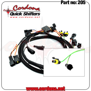205 - PQ8 Wiring Twin Harness Only - 205 - PQ8 Twin Harness Only