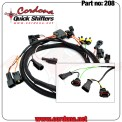 208 - PQ8 Wiring Harness for MV Agusta 4 coils