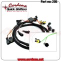 205 - PQ8 Wiring Twin Harness Only