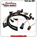 207 - Wiring Harness Only for MV Agusta 2 coils