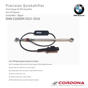 BMW S1000RR 2015-2017    Quickshifter - Blipper