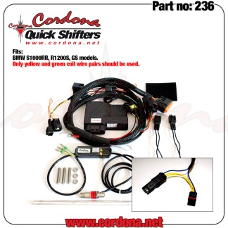 236 - PQ8 Combo Quickshifter BMW S1000RR, R1200S, GS models. - PQ8 Combo Quickshifter