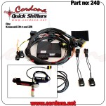 240 - PQ8 combo with pedal, fits Kawasaki ZX14 & ZZR