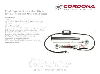 Aprilia RS 660 Quickshifter - Blipper