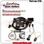 218 - PQ8 Combo Quickshifter Aprilia Dorsoduro
