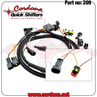 209 - PQ8 Wiring Harness for Ducati 916-998 - 209 - PQ8 Wiring Harness for Ducati 916-998