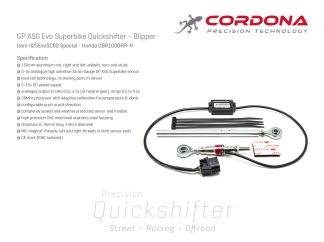 Honda CBR1000RR-R SC82        Quickshifter - Blipper