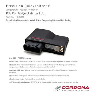 Item 200 - PQ8 Combo Quickshifter ECU