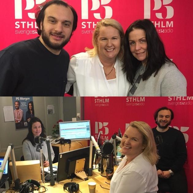 P5 Morgon, Sveriges Radio, Titti Schultz, Farzad, Tid, Petra Brask, Personlig Effektivitet