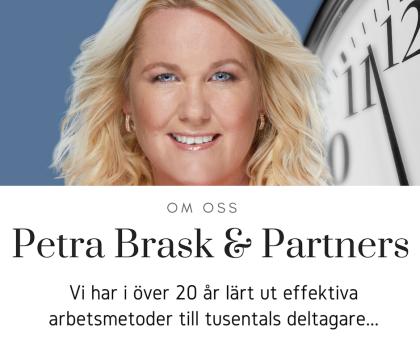 Petra Brask, PB & Partners, Effektiva arbetsmetoder
