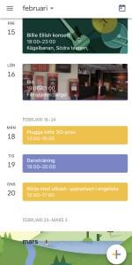 App Google Kalender, Planera snyggt och enkelt
