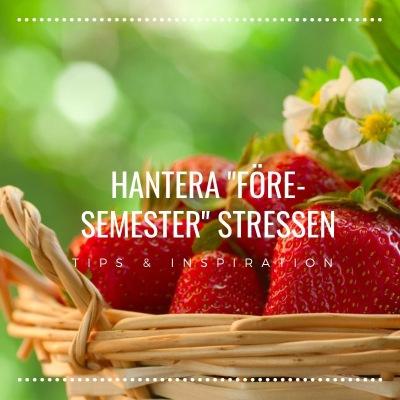 Hantera före semester stressen, PB & Partners, Tips & Inspiration