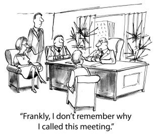 Dags att vässa våra möten?, Statistik, PB & Partners