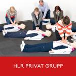 HLR för privatpersoner (hjärt- och lungräddning)