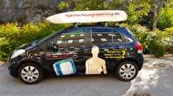 Som HLR-instruktör behöver du inte ens ha egen bil! All utrustning ingår  och är packad och klar när du hämtar den. Kontoret ligger i Mörby - endast 3 minuters promenad från t-banan.