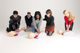 Boka HLR-kurs (hjärt- och lungräddning)