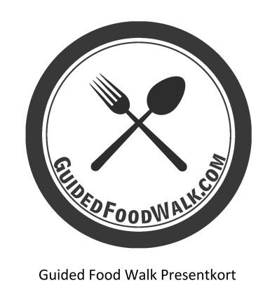 Guided Food Walk: Presentkort 2 personer