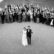 Bröllopsfoto Fjelldalens slott Halmstad