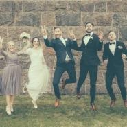 Bröllopsfotografering Halmstad Heagård