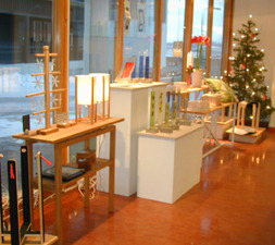 Julbutiken på Mommagatan december 2004