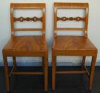 Woodgrained chairs
