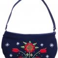 "Hand bag ""Winter flower"""