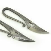 Järnålderskniv i smide