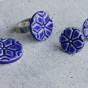 Snöflinga - Ring blå