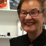 Astrid Sunna invigde utställningen /  Astrid Sunna inaugurated the exhibition