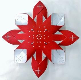 Advent Ullstjärna - Ullstjärna Röd