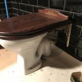 Toalett sits