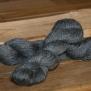 Vårt eget ullgarn - Mörkgrått 3-trådigt