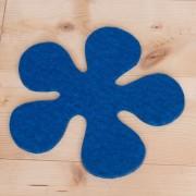 Blomma klarblå