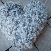 Hjärta i lammskinn mellan