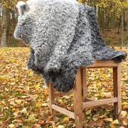 Lammskinn från Gotlandsfår