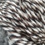 Raggsocksgarn svart/grå/brun