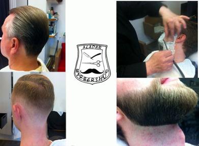 Behandlingar hos Aladar Barbershop