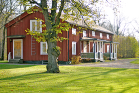 Gårdhuset med studios och två dubbelrum