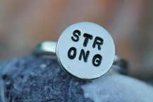 Silverring - STRONG - 595 kr