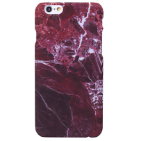 Iphone 7/8/X case marble red