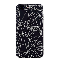 Iphone 7/8/X case fashion black