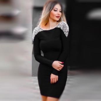 BLACK PEARL DRESS