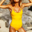 BAHAMAS - SWIMSUIT - L - YELLOW