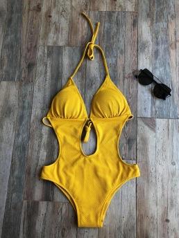 MIAMI BEACH - SWIMSUIT - 38 - Yellow