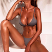 SEX ON THE BEACH GREY - BIKINI - L - grey
