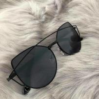 CAT EYE SHADES - BLACK