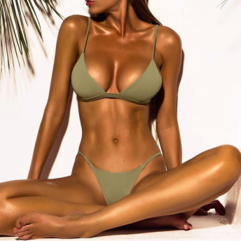 SEX ON THE BEACH GREEN - BIKINI - S - green