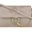 CHAIN BAG SMALL TAUPE