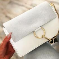 CHAIN BAG SMALL WHITE